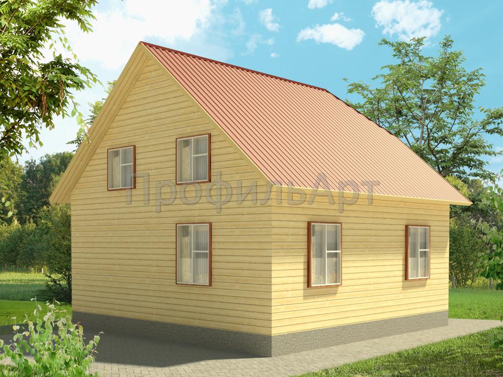 проект домов 8х8 фото