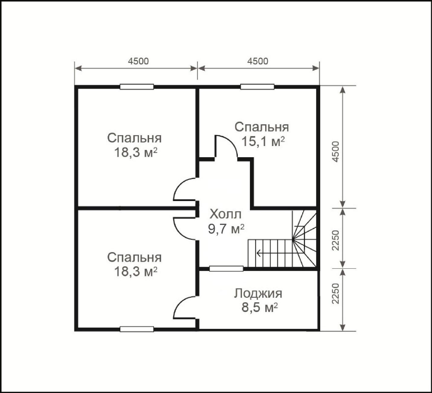 планировка дома фото 9 на 9
