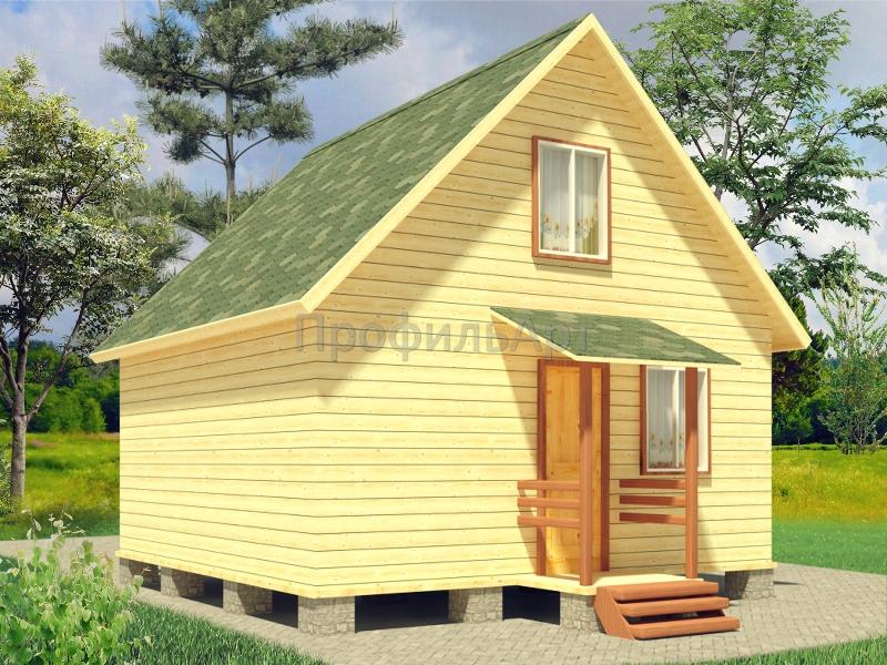 Садовый домик 6 на 6
